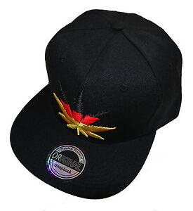 Das Bild wird geladen Black-Cannabis-Germany-Snapback-Cap-schwarz-basecap -Deutschland 3f6528a0ff