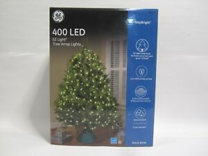 Details About Free Ship Ge Warm White Led Mini Christmas Tree Net Lights 400 Indoor Outdoor