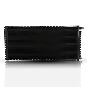 Condenser A//C 16x20 18mm Core Depth 4 Rails Unpainted CN-PF1620-ACS