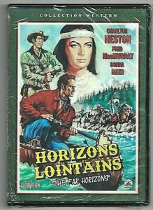 DVD - HORIZONS LOINTAINS (CHARLTON HESTON / F. McMURRAY) WESTERN INTROUVABLE !!!