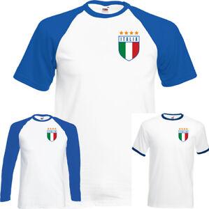 Retro-Italia-Football-T-Shirt-Top-World-Cup-2018-Italy-Italian-Footy-Jersey-Kit