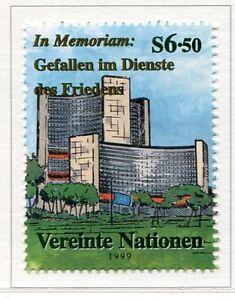19435-UNITED-NATIONS-Vienna-1999-MNH-Nuovi-In-Memoriam