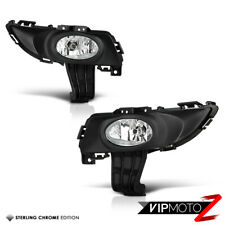 Fog Light Kit for Mazda 3 Sedan BK 01//2004-05//2006 with Wiring /& Switch