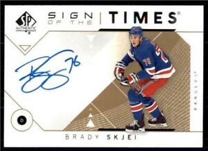 2019-20-UD-SP-Authentic-2018-19-Update-Sign-of-the-Times-Auto-SOTTBS-Brady-Skjei