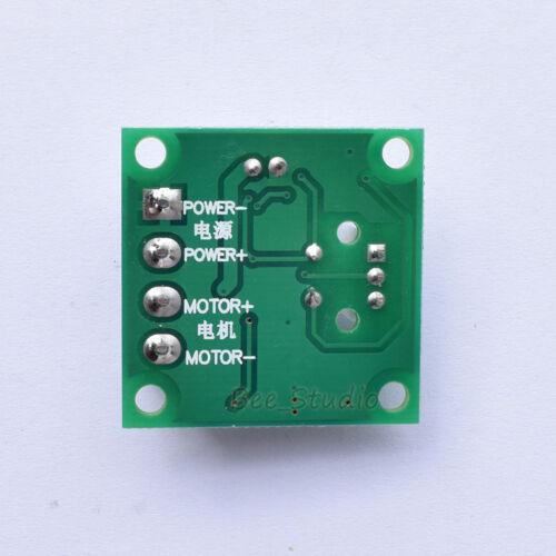 DC 1.5V-18V 12V 2A Control Low Voltage PWM Motor Speed Controller Regulator L40