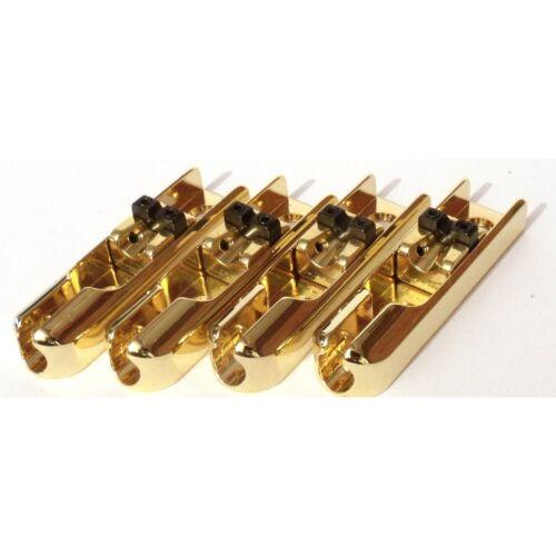 Bass bridge gold Monorail einzelne Saite einzeln 1 string Brücke string through