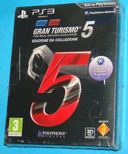 Gran-Turismo-5-Edizione-da-Collezione-Sony-Playstation-3-PS3-PAL-New-Nuovo