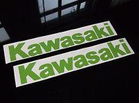 Kawasaki Gas Tank Decals 2pc Set Ninja Zx6 Zx9 Zx10 Zx11 Zx12 Zx14