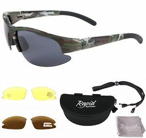 ea766ae3af24 Image is loading CAMOUFLAGE-FISHING-SUNGLASSES-Polarised -Also-For-Shooting-Carp-