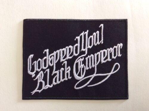 NEUF GODSPEED YOU M327 //// ECUSSON PATCH AUFNAHER TOPPA BLACK EMPEROR 10*7,