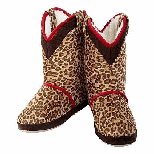Cicciabella Cowgirl Rider Women Boot Slipper Embroidered Floral Leopard Zebra
