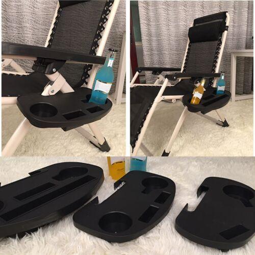 Camping Stuhl Telefon Flaschen Halter Getränkehalter Seitentisch Klappbar Ablage
