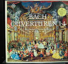 Nikolaus Harnoncourt - Bach Ouvertüren Nr. 1-4 2 LP VG+ 6.35046 Telefunken