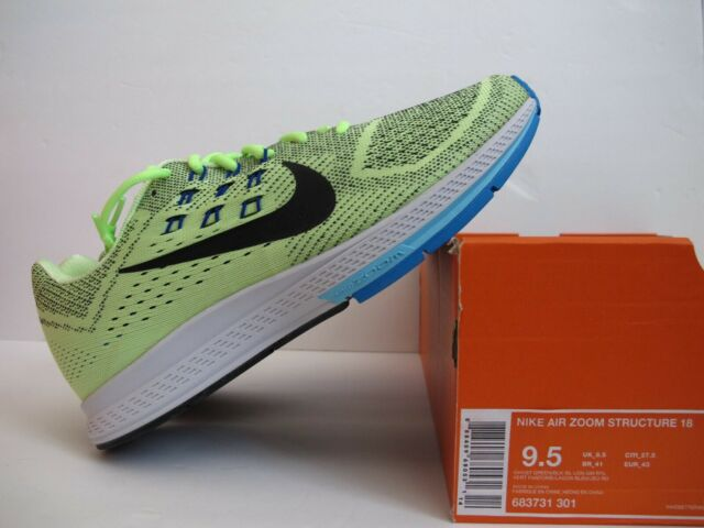 NEW Nike Air Zoom Structure 18 Mens Running Shoes Sz 9.5