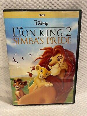 Disney Dvd The Lion King 2 Simba S Pride 2004 Ebay