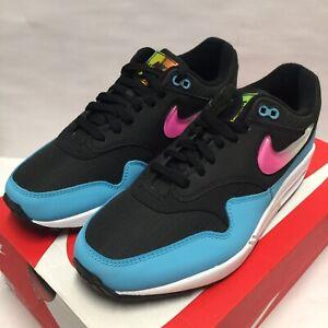 Nike Air Max 1 Black Pink Laser Fuchsia