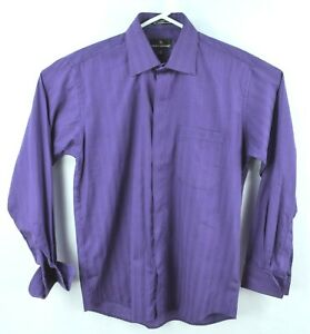 dc2d83cffdfb Stacy Adams Mens Long Sleeve Button Up Shirt French Cuff SIZE XL ...