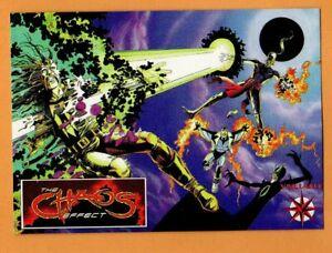 The-Chaos-Effect-1994-Valiant-Comics-PROMO-Trading-Card