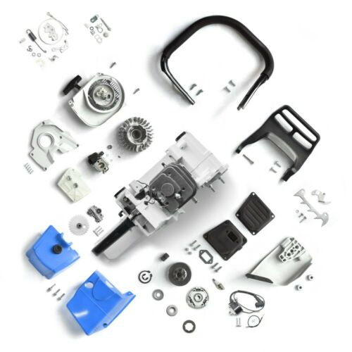 Complete Parts Kit FOR Stihl MS381 MS380 Engine Crankcase Cylinder Carburetor