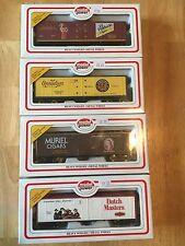 Vintage Cigar Ho Train Cars ! complete (4) Car Set Model Power