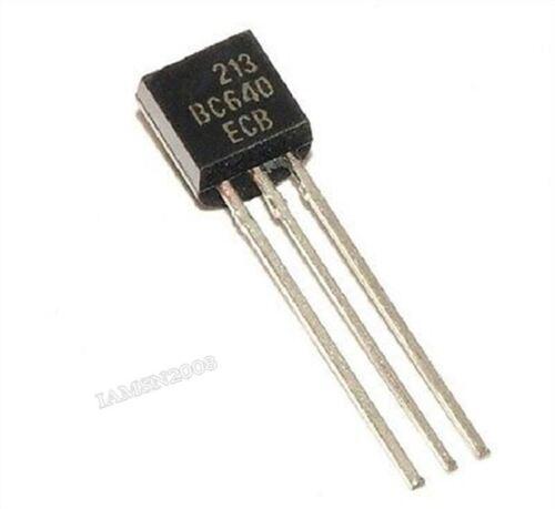 20Pcs BC640 BIS-92 80V 1A Pnp Allzwecktransistor sn