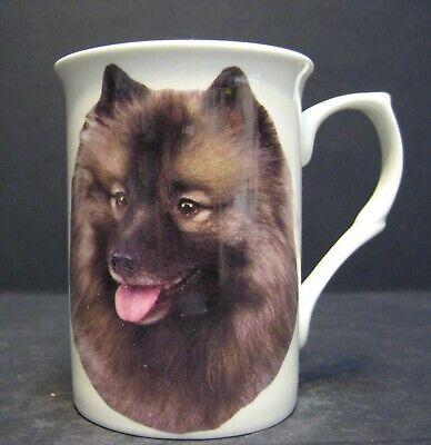 Keeshond Dog Fine Bone China Mug Cup Beaker