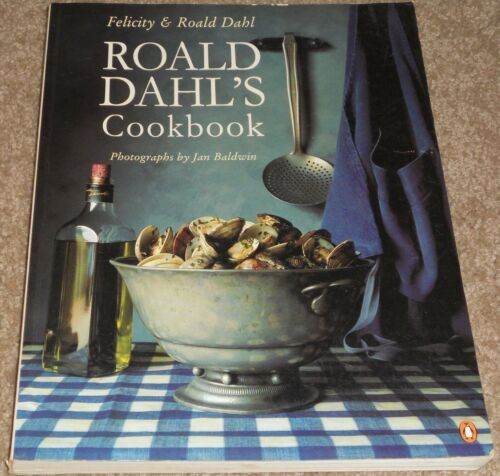 1 of 1 - Roald Dahl's Cookbook - 1996 - SC - Felicity & Roald Dahl