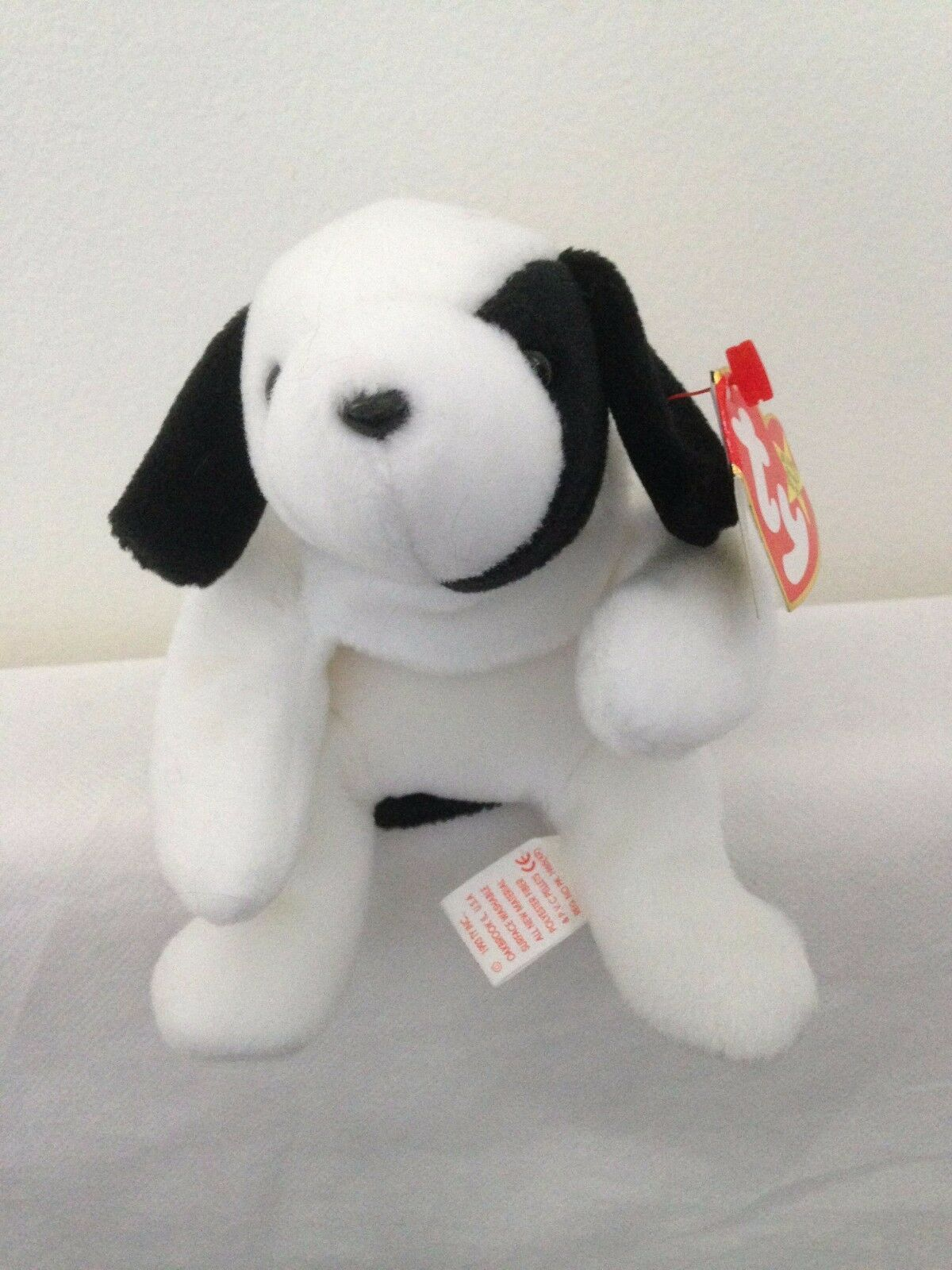 TY Beanie Babies - Spot The Dog Rare with Errors