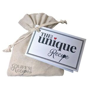 Image Is Loading The Little Unique Recipe Thoughtful Gift Bag
