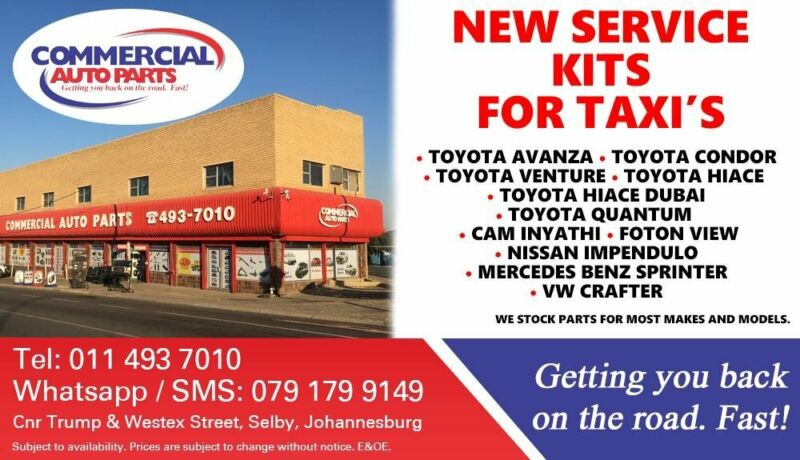 Service Kits For Most Taxi Makes and Models For Sale