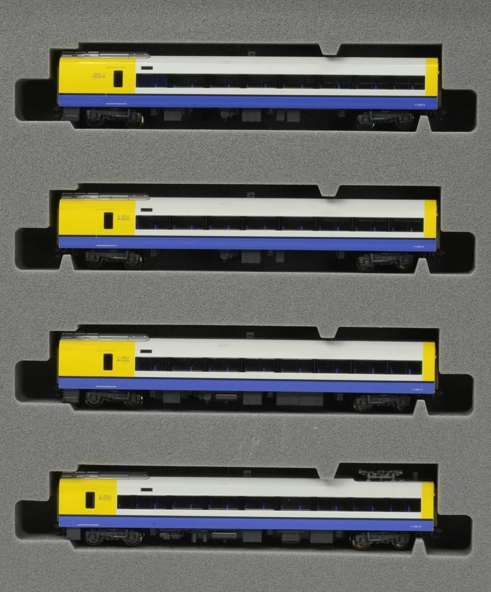 Kato 101286 Series E255 Boso View Express Train 4 autos AddOn Set  N