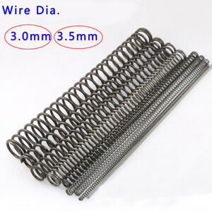 3mm 3.5mm Length 300mm Long 1pcs Large Springs Compression Spring Wire Dia
