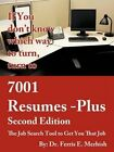 7001 Resumes-plus The Job Search Tool to Get You That Job Merhish Ferris E.