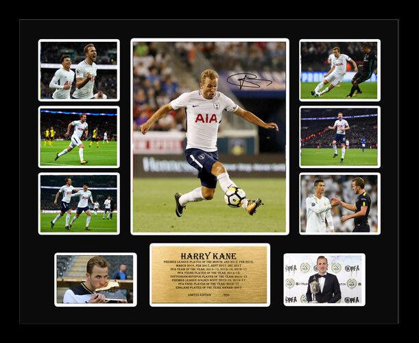 Nuevo Harry Kane Edición Limitada Firmada Tottenham Spurs recuerdos Enmarcado