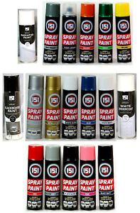 New-Spray-Paint-Can-Gloss-Matt-Varnish-Primer-Metallic-DIY-Multi-Purpose-Aerosol