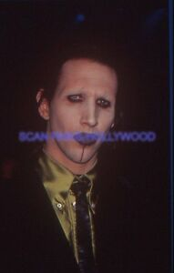 "MARILYN MANSON 90s DIAPOSITIVE DE PRESSE ORIGINAL VINTAGE SLIDE #22 - France - Commentaires du vendeur : ""Diapositive originale de presse Superbe état / Original slide VG condition SEE BELOW"" - France"