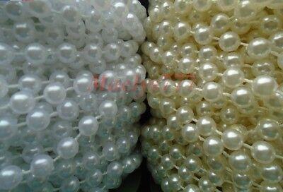 guirlande de perle chaîne 5mm décoration mariage fêtes scrapbooking couture