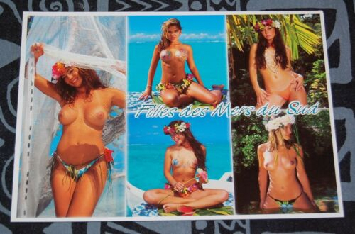 Topless tahitian girls