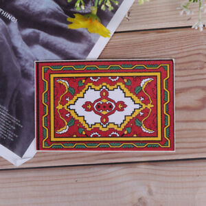 1-12-Dollhouse-miniature-national-style-mat-floor-coverings-for-dollsHouse-de