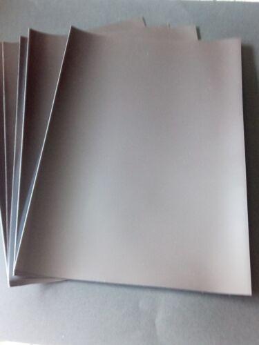 Hojas magnética hojas y tiras de A4
