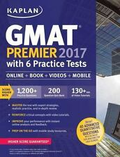 GMAT Premier 2017 with 6 Practice Tests: Online + Book + Videos + Mobile (Kaplan
