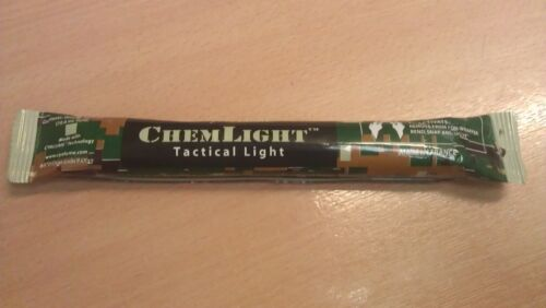 CYALUME CHEMLIGHT TACTICAL GLOW STICK 8 HOUR VARIOUS COLOURS