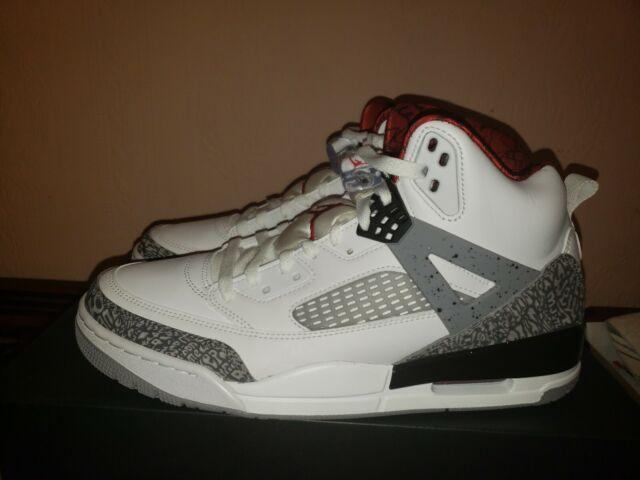 Mens Air Jordan Spizike White Varsity