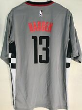 083548a9b4d adidas NBA Jersey Houston Rockets James Harden Grey Short Sleeve Sz ...