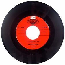THE FIVE SATINS: A Million to One USA EMBER Orig NM- Doo Wop 45 Super HEAR