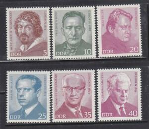 DDR24-EAST-GERMANY-DDR-1973-FAMOUS-PEOPLE-MNH