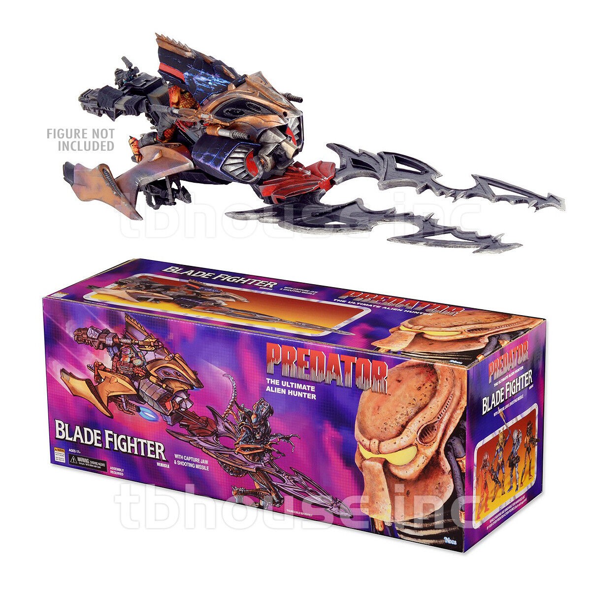 27  PREDATOR BLADE FIGHTER vehicle EXPANDED UNIVERSE UNIVERSE UNIVERSE kenner NECA SERIES 2014 46a2b3