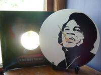 """James Brown 12"""" LP Vinyl Record Wall Clock, Pop Art, Canvas, 60's, I feel good"""