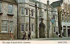 Lincolnshire -Grantham, The Angel & Royal Hotel - Postcard Franked 1980
