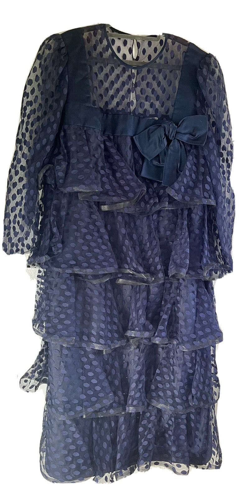 Couture Arnold Scaasi For Saks Fifth Avenue SZ 18… - image 9